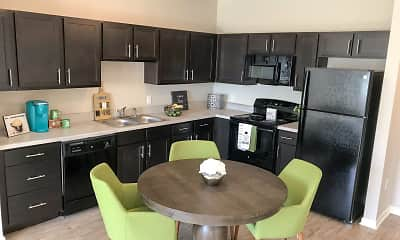 Kitchen, Sansom Pointe 55 + Community, 2