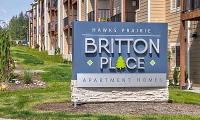 Community Signage, Britton Place, 2