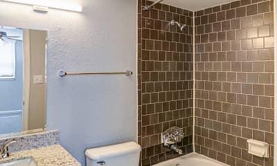 Bathroom, The Edge at NoDa, 2