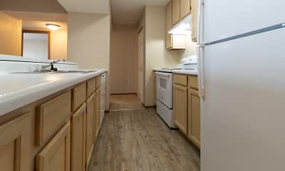 Kitchen, The Apartments at Oakbrook Court, 2