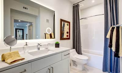 Bathroom, Grande Villas at Uptown, 2