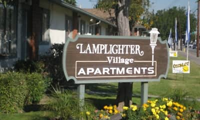 Community Signage, Lamplighter Village, 1