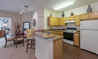 Kitchen, Apartments at the Medical Center, 0
