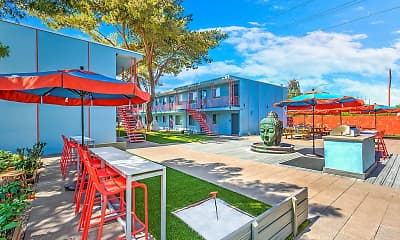 Recreation Area, The Neon Apartments, 1