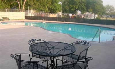 Pool, Elba Terrace Manufactured Home Community, 1