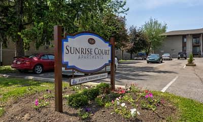 Community Signage, Sunrise Court, 0