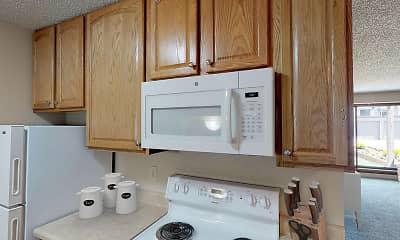 Kitchen, Mountain View Apartments, 2
