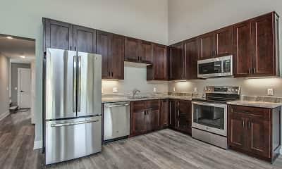 Kitchen, Parkside Lofts, 1