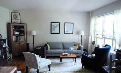 Living Room, Fair Oaks Apartments, 0