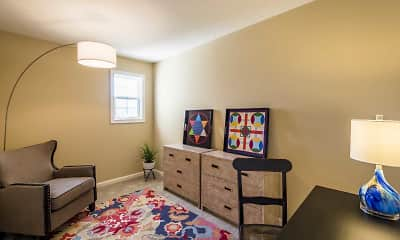 Bedroom, Mansfield Village Townhomes, 2