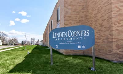 Community Signage, Linden Corners, 1