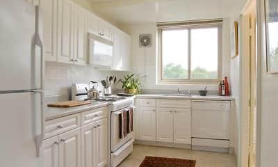 Kitchen, Avalon The Albemarle, 1