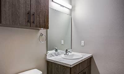 Bathroom, Northgate Apartments, 2