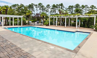 Pool, Ocean Trace Apartments, 0