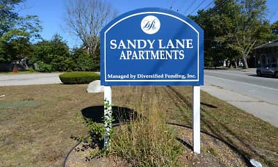 Community Signage, Sandy Lane Apartments, 2