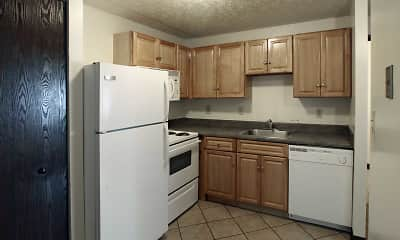 Kitchen, Riverwalk Apartments, 1
