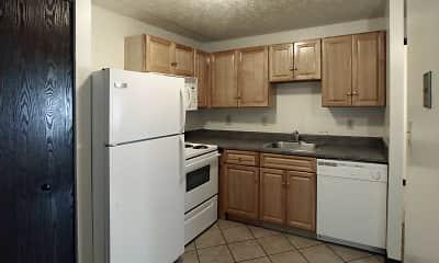 Kitchen, Riverwalk Apartments, 1