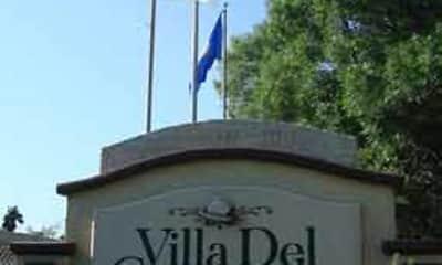 Community Signage, Villa Del Coronado, 0