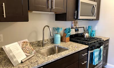 Kitchen, Canal Crossing at Whitneyville West, 2
