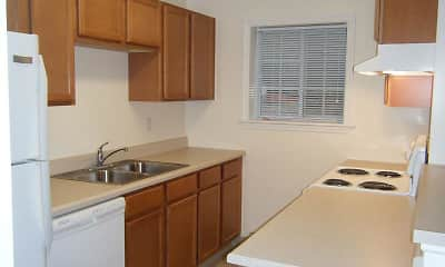 Kitchen, Lake View Apartments, 1