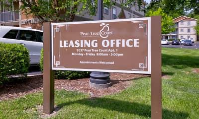 Community Signage, Pear Tree Court, 2