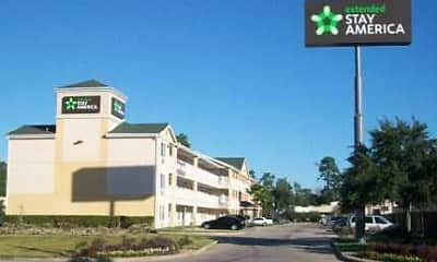 Building, Furnished Studio - Houston - The Woodlands, 1