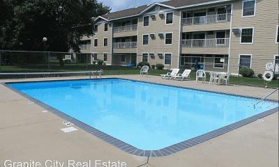 Pool, Wedgewood Apartments, 0