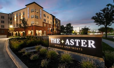 Community Signage, The Aster, 0