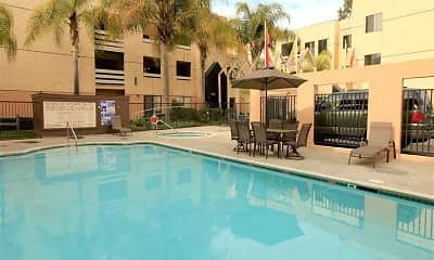 Pool, Mesa Ridge Apartments, 0