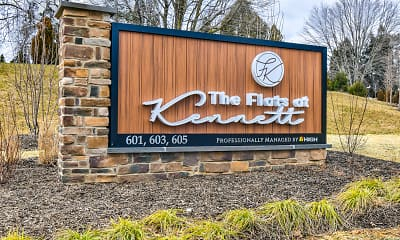 Community Signage, The Flats at Kennett, 2