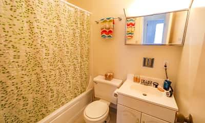 Bathroom, Nobb Hill Apartments, 2