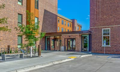 Building, The Woodrow Apartments-Downtown Fargo, 2