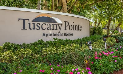 Community Signage, Tuscany Pointe, 2