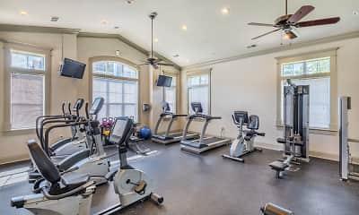 Fitness Weight Room, Vista Sands, 2