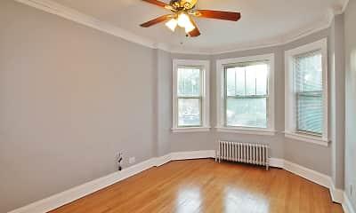 Bedroom, 1151 S. Oak Park Apartments, 1