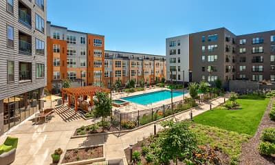 Pool, 2700 University Apartments, 2