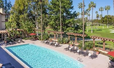 Pool, Rancho Monterey, 1