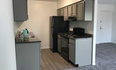 Kitchen, Merion Trace Apartments, 1