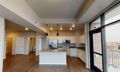 Kitchen, First Street Lofts, 0