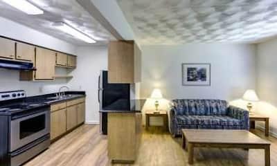 Kitchen, Oakwood Crest Furnished Apartments, 0