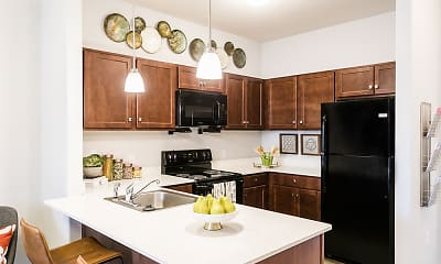 Kitchen, Villa Capri Apartment Homes, 1