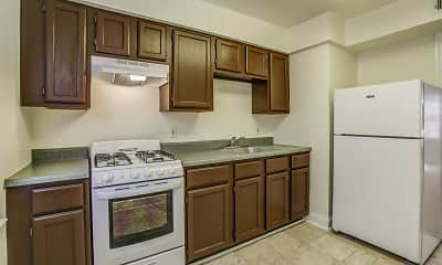 Kitchen, Westhills Square Apartments, 0