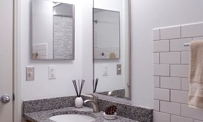 Bathroom, Gillham House, 2