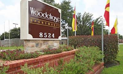 Community Signage, Woodchase Apartments, 2