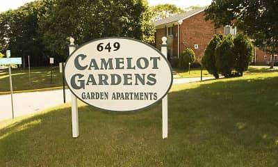 Building, Camelot Gardens, 1