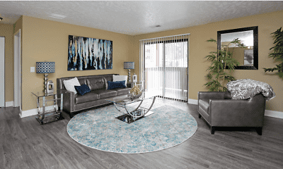Living Room, Tudor Heights, 1