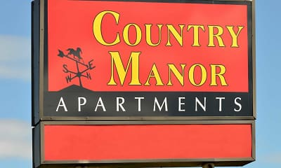 Community Signage, Country Manor, 2