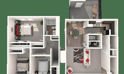 Woodbridge Apartments of Bloomington, 2