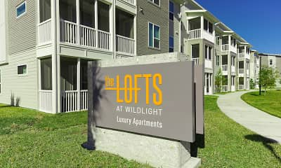 Community Signage, The Lofts at Wildlight, 2