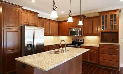 Kitchen, The Mansions at Canyon Creek, 0
